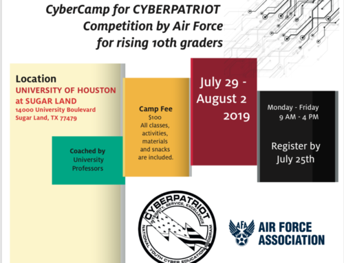 CyberCamp for CYBERPATRIOT Competition by Air Force